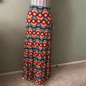 1 hr SALE - LuLaRoe Maxi Skirt XL